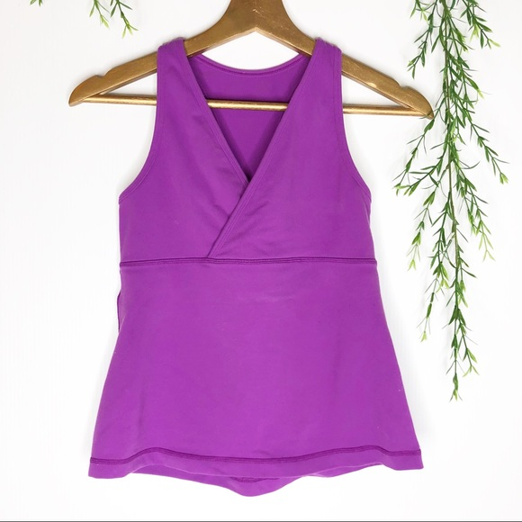 lululemon athletica Tops - Lululemon - V-Neck Yoga Tank Top